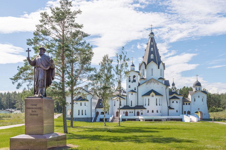 Свято-Владимирский скит на острове Валаам