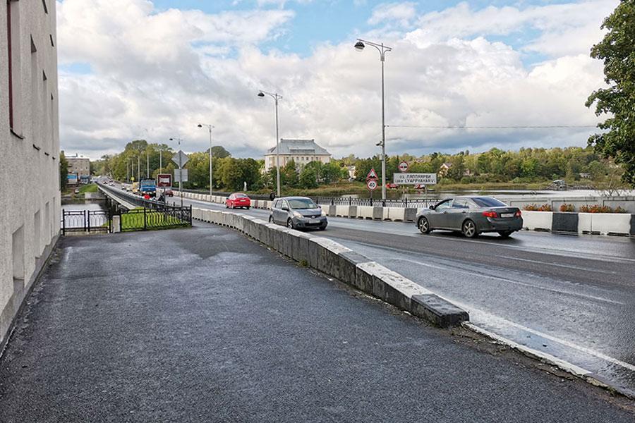 Карельский мост в Сортавале