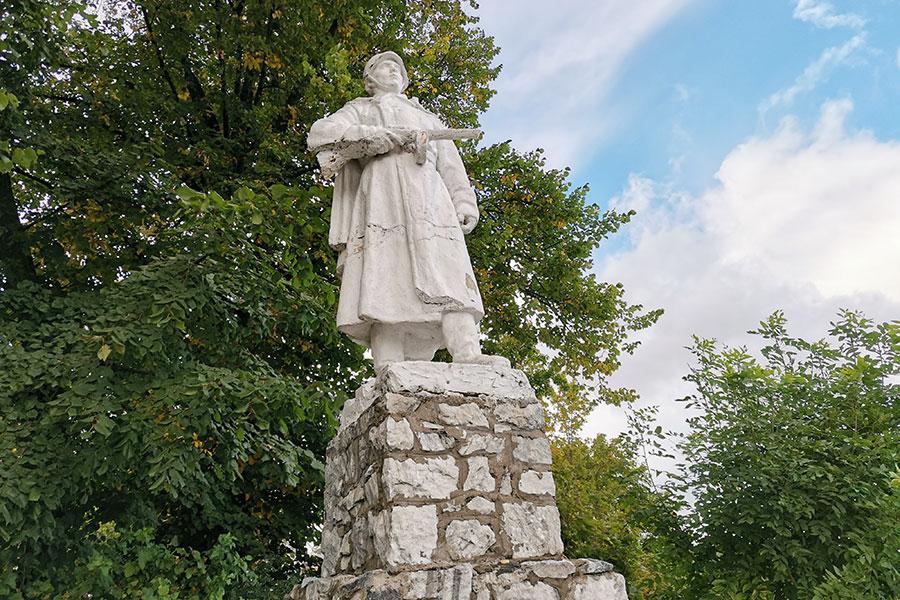 Памятник советскому солдату в Сортавале