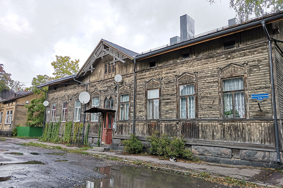 Дом в Сортавале