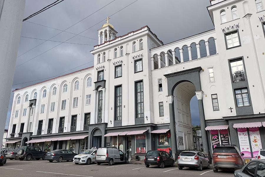 Здание управления православной церкви Финляндии