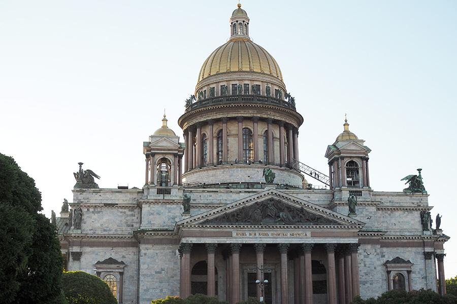 Исаакиевский собор в СПб